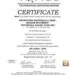 Cert ISO 22000-2005