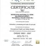 Cert ISO 18001-2008